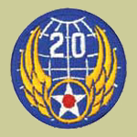 20th Army Air Forces WW2 Patch